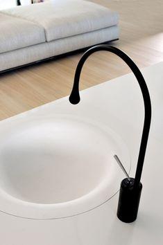 Bathroom sink.  Gessi products