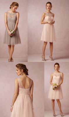 Beautiful bridesmaid dress by BHLDN...so cute for short!!