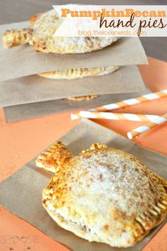 Delicious and Adorable Pumpkin Pecan Hand Pies