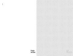 The blank page: Copywriter vs. Designer
