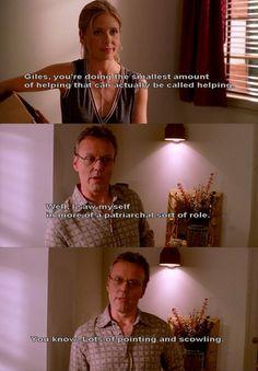 Buffy the Vampire Slayer. Giles.
