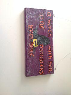 Halloween sign I made 2014