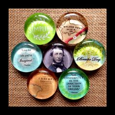 ~Henry David Thoreau Collection~  Queen Bee Design Studios Visit us on Facebook!