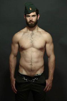 FS207 - Sexy Bearded Man