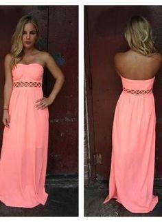 I want soo bad! It is a beautiful coral summer dress.