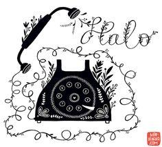 telephone by Dinara