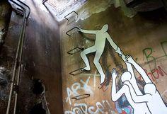 A Daring Street Art Escape by Daan Botlek street art Berlin #art #artist #artnews #berliner #germany #artworld #graffiti #streetart #urbanart #spraypaint