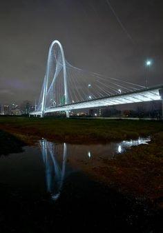 Margaret Hunt Hill bridge in Dallas.