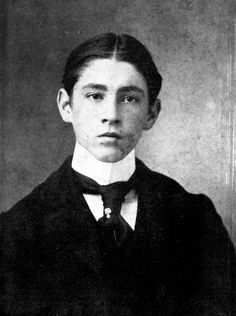 John Barrymore at the age of fifteen.