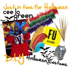 DIY: Cee Lo Green Feather Costume