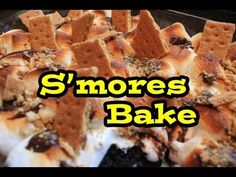 ▶ S'mores Bake Recipe from Big Thunder Ranch BBQ (Disneyland) - YouTube