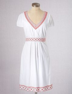 I've spotted this @BodenClothing Embroidered Sundress White