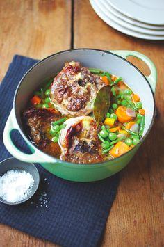 Rachel Khoo's spring lamb soup #recipe. #food
