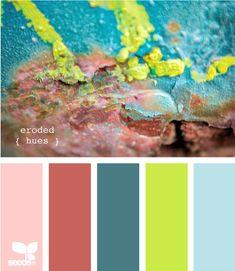 Design Seeds: eroded hues 12.23.11
