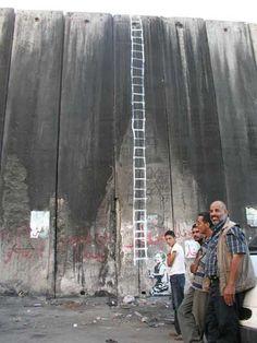 West Bank Wall-Banksy
