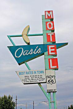 Oasis Motel........Tulsa, Oklahoma