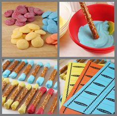 Candy Crayon Recipe for April Fools Day