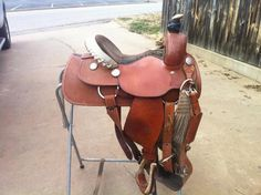 colorful pictures of western saddles | Texas Tack - Western Saddles For Sale - Youth roping saddle for sale