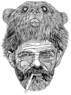 Bears by Luke Dixon, via Behance