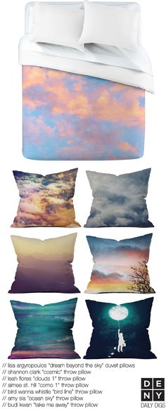 Bedroom in the Clouds | Daily Digs #sky #art #loft #city with @Lisa Phillips-Barton Argyropoulos, Shannon Clark, @Leah Daehling: moxiethrift Flores @Aimée Gillespie St Hill @Amy Lyons Sia, Budi Kwan