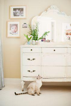 Beautiful bedroom vignette | Photography: Yazy Jo - yazyjo.com  Read More: http://www.stylemepretty.com/living/2014/09/22/la-la-lovely-home-tour/