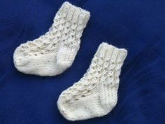Ravelry: Newborn Sock Recipe pattern by Lies