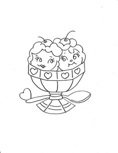 sweet embroidery pattern