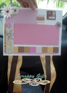 Scrappy Canvas Bow Holder