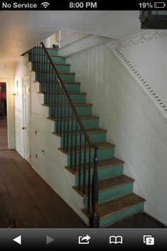 Idea for dollhouse stairs.