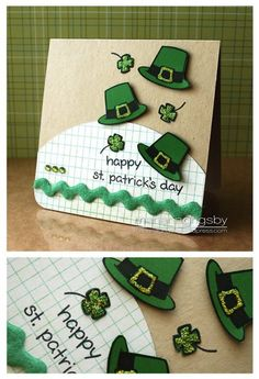 Happy St. Patrick's Day  Lawn Fawn- Hats Off to You  the Lawn Fawn blog: Design Team Wednesdays {new feature}