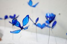 Dippity Glass Flower Kits  (we would form the petals out of wire and then dip in this plastic stuff to make the flowers)