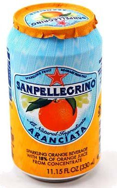 When the foil cover is peeled off of a can of San Pellegrino, it offers the sensation of actually peeling fruit. It also incorporates a crinkle sound.  Use all 5 senses in packaging