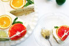 Stella Cake (a Citrus Cake with Lemon Curd Filling and Orange Lemon Icing)