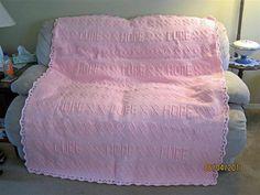 Crochet Pattern for Breast Cancer Afghan by milnertm on Etsy, $5.00