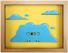 Cassette Art by Benoit Jammes