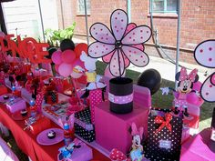 """Minnie Mouse"" Party by Treasures and Tiaras Kids Parties, via Flickr"