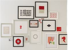 west elm gallery wall