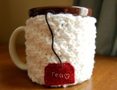 Just right for these cold days... a cute tea cozy