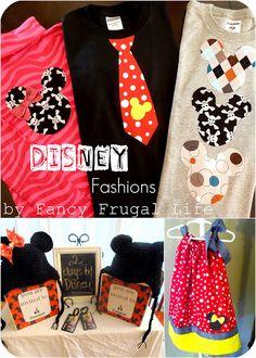 Disney Inspired DIY Fashion