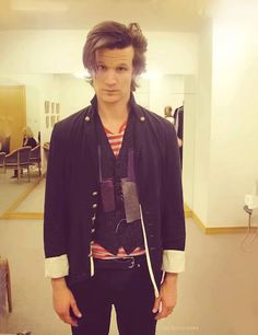 This outfit. This face. Matt Smith.