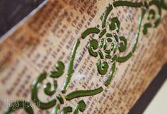 Tays Rocha: Caixa de vinho em Arte Francesa - scrap decor, texturização, envelhecimento e flocagem.  #artesanato #artefrancesa #scrapdecor #taysrocha #truecolors #ateliermundocountry #crafts