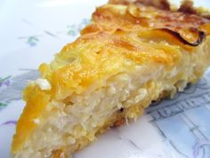 spag cheese pie - kids would love! pasta chees, chees pie
