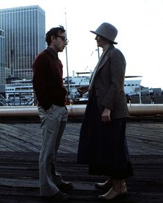 woody allen and diane keaton, annie hall.