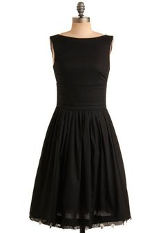 possibly the perfect little black dress for casual wear