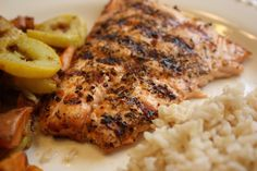 Walkin' in Memphis with the Watsons!: Grilled Salmon