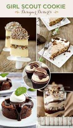 Girl Scout Cookies Transformed Into Designer Desserts!