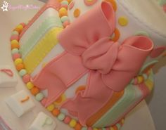 Fondant bow ♥ fondant bow