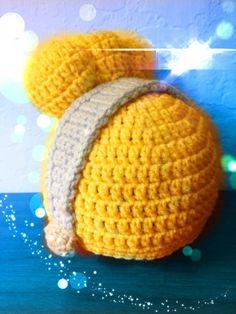 inspiration!  Custom Crochet  Princess Cinderella Styled Hat. $30.00, via Etsy.