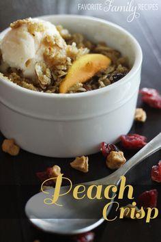 Summer Peach Crisp