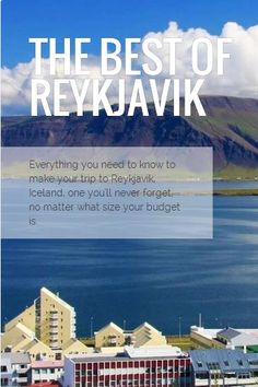 18 awesome things to do in Reykjavik, Iceland from @Buggl guides.